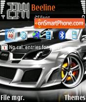 Subaru Impreza 05 es el tema de pantalla