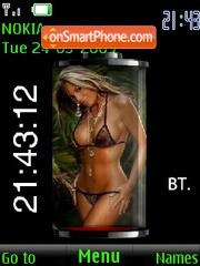 Темы «Девушки» для Nokia X2