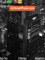 Night City tema screenshot