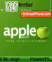 Apple v1 Green edition es el tema de pantalla