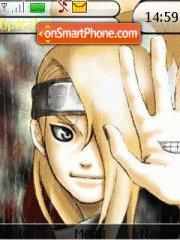 Deidara theme screenshot