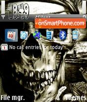 Skull V1 theme screenshot