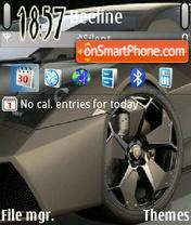 Stylish Lambo theme screenshot
