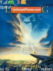 Lion King theme screenshot