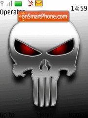 Skull 666 theme screenshot