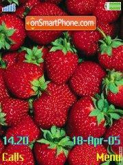 Strawberries1 tema screenshot