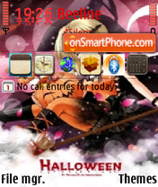 Anime Halloween theme screenshot