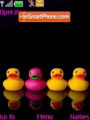 Little ducks theme screenshot