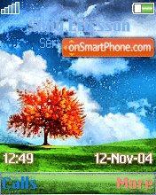 Wide Tree es el tema de pantalla