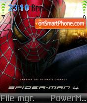 Spiderman 4 theme screenshot