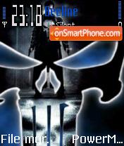 Punisher v1 theme screenshot
