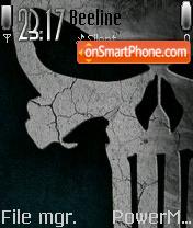 Punisher v2 theme screenshot