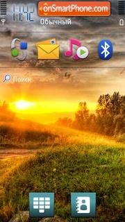 Sunrise 04 theme screenshot