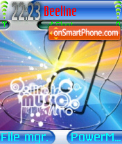 Life Is Music 02 tema screenshot