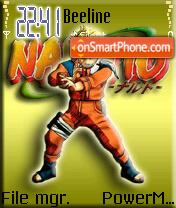 Naruto Theme theme screenshot