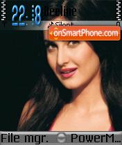 Katrina Kaif 10 theme screenshot