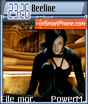 Aeon Flux 05 theme screenshot