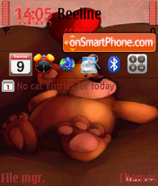 Teddy Bears theme screenshot