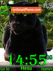 SWF black panther 7 wallpeper es el tema de pantalla