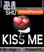 Kiss Me 07 theme screenshot