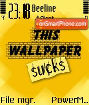 This Wall Sucks theme screenshot