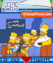 Simpsons 2 theme screenshot