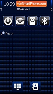 BlueV2 tema screenshot