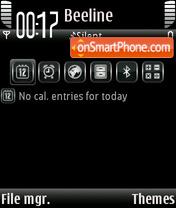 Only Black V7 theme screenshot