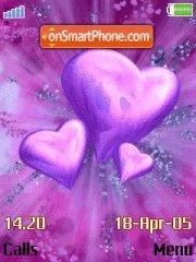Purple Hearts es el tema de pantalla