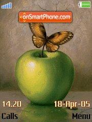 Green Apple es el tema de pantalla