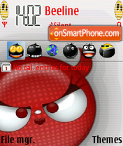 Devil theme screenshot