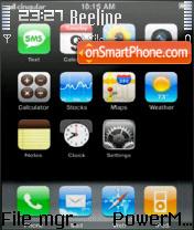 Iphone Theme theme screenshot