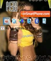 Скриншот темы Fergie Forever