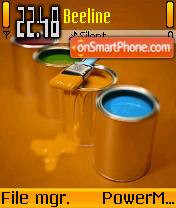 Orange 13 theme screenshot