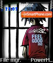 Gorillaz 03 tema screenshot