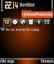 Orangehole theme screenshot