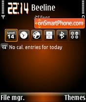 Orangehole Theme-Screenshot