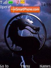 Mortal Kombat theme screenshot