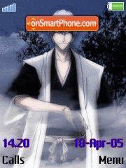 Ichimaru Gin es el tema de pantalla
