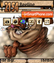 Taz theme screenshot