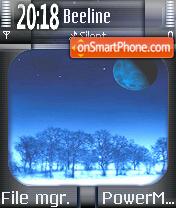 Night Blue es el tema de pantalla
