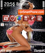 Karmen Electra theme screenshot