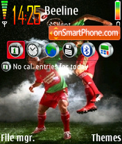 Futbol theme screenshot