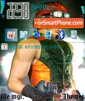 Hwoarang theme screenshot