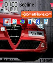 Alfa Mito theme screenshot