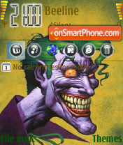 Joker2 theme screenshot