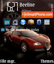 Скриншот темы Bugatti Veyron 2009 FP1_yI