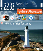 Lighthouse 01 theme screenshot