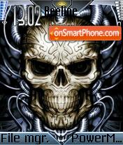 Metal Skull Theme-Screenshot