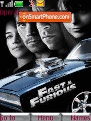 Fast & Furious tema screenshot